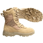 BLACKHAWK DESERT OPS BOOTS, DESERT TAN, SIZE 4.5 MEDIUM - 83BT02DE-45M