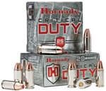 Hornady Critical Duty Pistol Ammunition 90226 9mm +P FlexLock 135 GR 1110 fps 25 Rd/bx