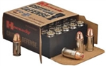 Hornady Critical Defense Pistol Ammunition 90250 9mm 115 GR Flex Tip eXpanding (FTX) 25 Rd/Bx