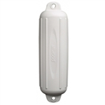 ATTWOOD SOFTSIDE OVAL BOAT FENDER 4X16 WHITE 9354D1