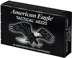 Federal American Eagle AE223J 223 Remington Metal Case Boat-Tail 55 GR