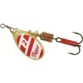 MEPPS AGLIA SPINNER 1/4 OZ GOLD RED WHITE B3GRW