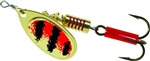 MEPPS AGLIA SPINNER 1/4 OZ RED BLACK B3GRBK