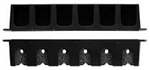 BERKLEY VERTICAL 6 ROD RACK BLACK BAVRR