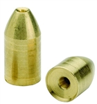 BULLET WEIGHTS DIAMOND POLISHED BRASS SINKER 3/16 OZ 5PK BBW316