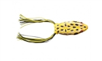 "BOOYAH PAD CRASHER HOLLOW BODY FROG 2 1/2"" 1/2 OZ SWAMP FROG BYPC3900"