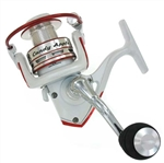 DQC Candy Apple Red Spin Reel