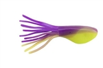 "JOHNSON CRAPPIE BUSTER SHAD TUBES 2"" GRAPE CHARTREUSE CBSTB2-GRPC"