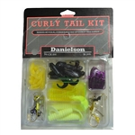 DANIELSON TACKLE BOX CURLY TAIL KIT 56PC CK200