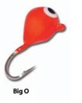 Eco Pro TUNGSTEN TEAR DROP ICE JIG Big O .8 grams #16 hook