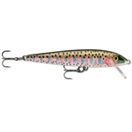 "RAPALA ORIGINAL FLOATING LURE 3-1/2"" 3/16 OZ RAINBOW TROUT F09-RT"