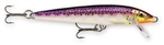 "RAPALA ORIGINAL FLOATING LURE 5-1/4"" PURPLEDESCENT F13-PD"