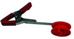 "LAKCO CLAMP RATTLE REEL 3-1/4"" RED FHRC-3"