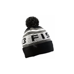 "13 Fishing ""FROSTY"" Winter hat, Black/White"