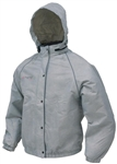 FROGG TOGGS WOMEN'S SWEET T RAIN JACKET GRAY - XL