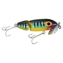 "ARBOGAST JOINTED JITTERBUG TOPWATER LURE 3-1/2"" 5/8 OZ PERCH G670-05"