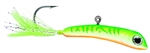 VMC MINNOW JIG 1/8 OZ GLOW GREEN FIRE UV MNJ18GGFU