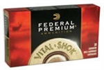 Federal Premium Vital-Shok Rifle Ammunition P270P 270 Winchester Nosler Partition 130 Gr 3060 fps 20 Rd/bx