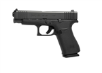 "Glock 48 Black 9mm 4.17"" bblPA4850201"