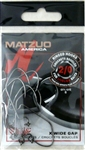 MATZUO RINGED SICKLE EXTRA WIDE FISHING HOOKS SIZE 2 R143011-2/0