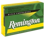 Remington Rifle Ammuntion R308W1 308 Winchester Core-Lokt Pointed Soft Point 150 GR 2820 fps 20 Rd/bx