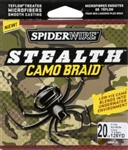 BERKLEY SPIDER WIRE STEALTH CAMO 20# 125YDS SS20C-125