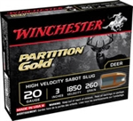WINCHESTER PARTITION GOLD 20GA