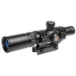 TRUGLO TRU-BRITE 30 Series 1-4 X 24mm Rifle Scope with Mount