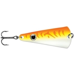 VMC TINGLER SPOON 1/8 OZ GLOW ORANGE FIRE UV TGS18GOFU