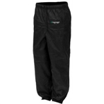 FROGG TOGGS TEKK TOAD WOMEN'S BLACK RAIN PANTS - MEDIUM