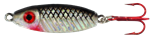 WAHOO BB RATTLER SPOON 3/8 OZ NATURAL SHAD-GLO WHITE BACK WAH-BRS38-NSH