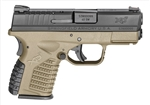"Springfield XDS 40S&W 3.3"" FDE XDS93340DEE"