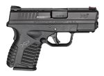 "Springfield XDS 9mm 3.3"" bbl XDS9339BE"