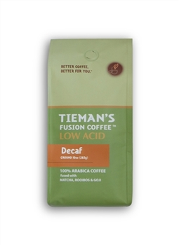 Tiemans Coffee Low Acid Medium Decaf