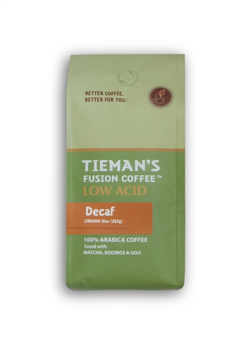 Tiemans Coffee Low Acid Semi-Dark Decaf