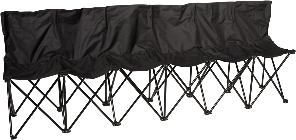 Trademark Innovations Sideline Collapsible Bench - 6 Person Seater ...