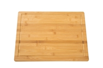 "Extra Large 18"" x 12"" Extra Thick 3/4"" Bamboo Cutting Board with Drip Groove by Trademark Innovations"