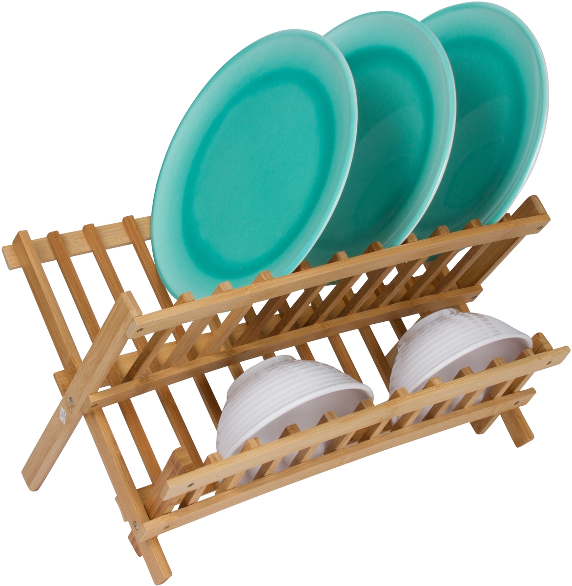 sc 1 st  Trademark Innovations & Premium Bamboo Dish Rack for Large/Thick Plates by Trademark Innovations