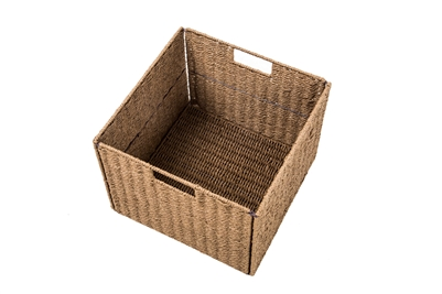 Foldable Storage Basket With Iron Wire Frame   Set Of 4   By Trademark  Innovations