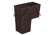 Wicker Storage Stair Basket With Handles by Blue Ridge Basket Co.