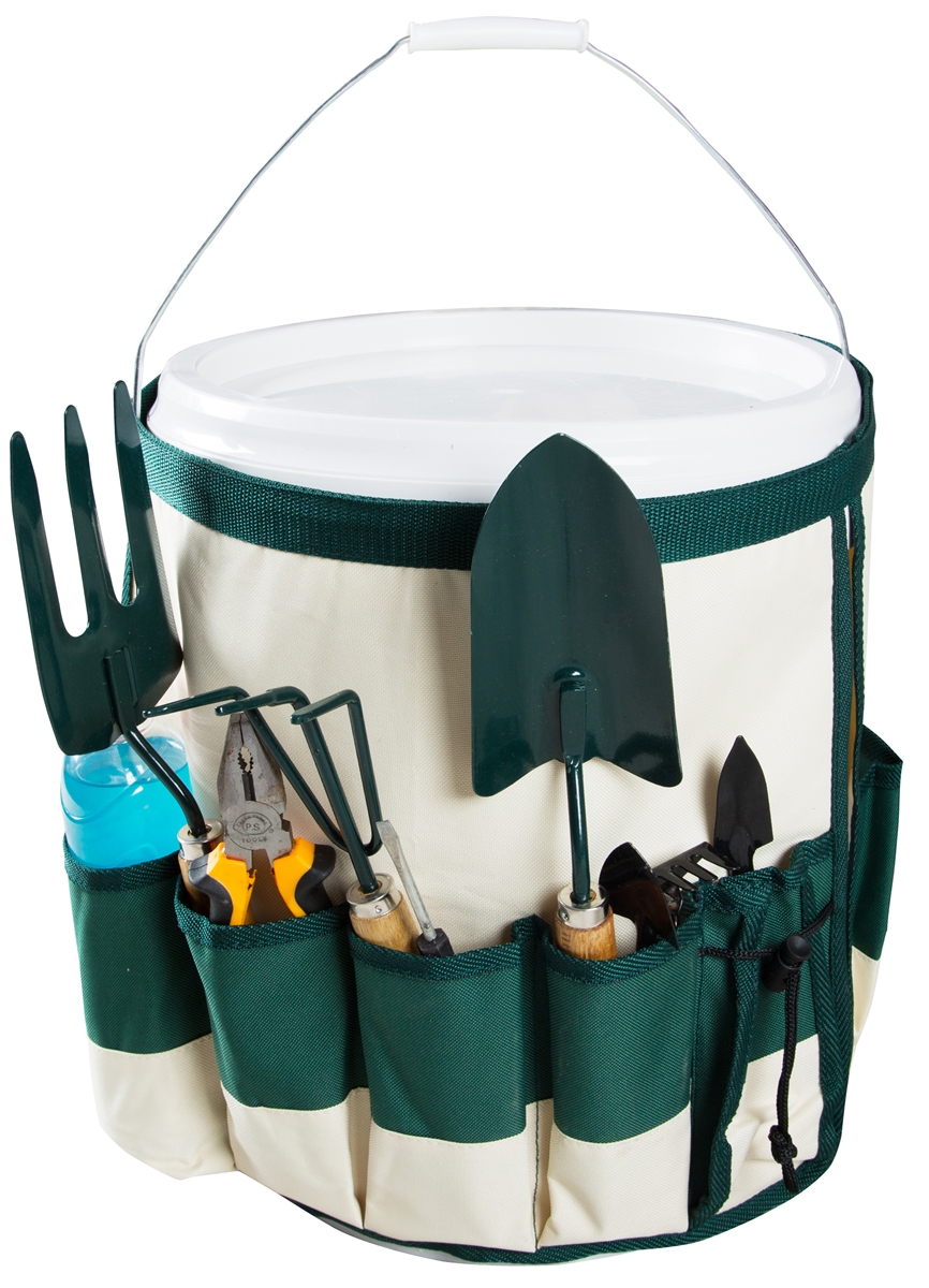 5 Gallon Bucket Garden Tool Caddy and Organizer by Trademark