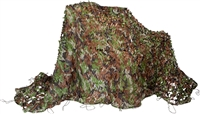 Camouflage Hunting Tactical Net By Modern Warrior (8' x 5')