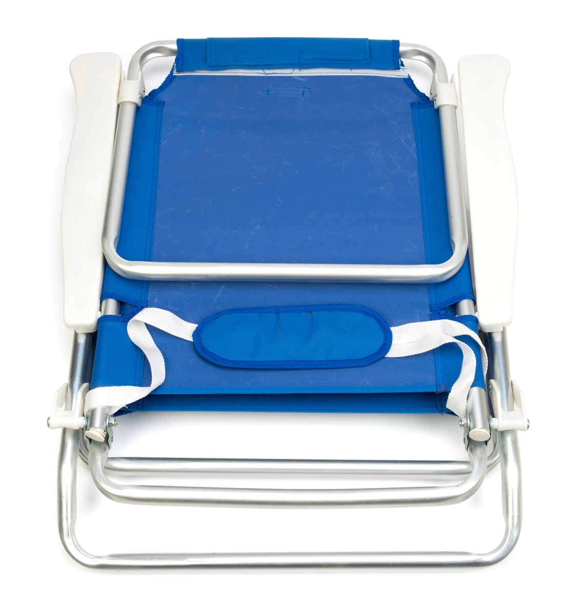 5 Position Aluminum Frame Beach Chair With Pillow By Trademark Innovations  (Blue)