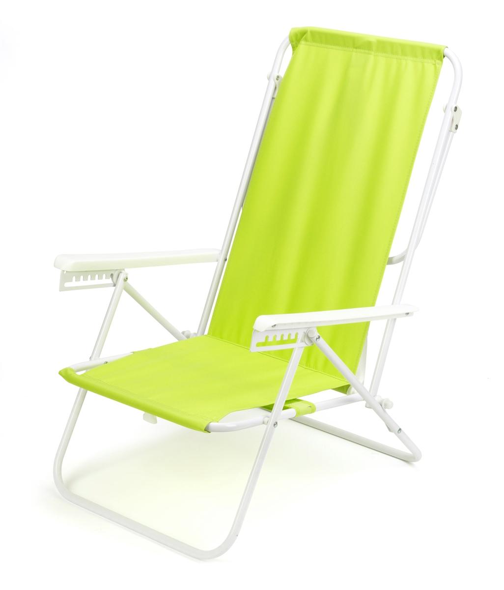 Brilliant 7 Position High Back Steel Tube Beach Chair By Trademark Innovations Light Green Frankydiablos Diy Chair Ideas Frankydiabloscom