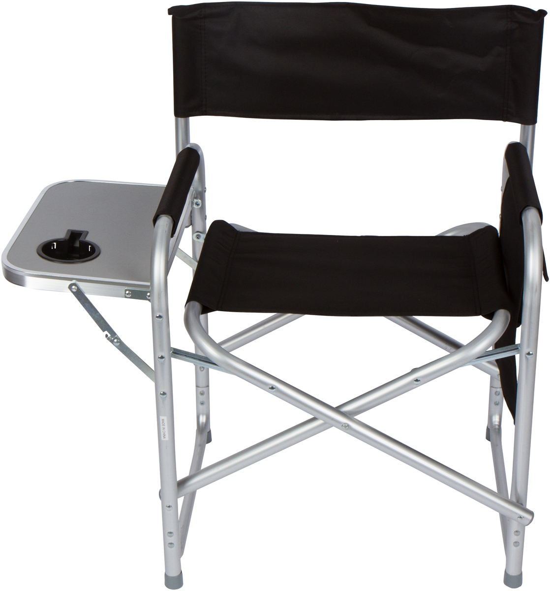 Swell Folding Directors Chair With Aluminum Side Table Storage Bag And Steel Tubing By Trademark Innovations Uwap Interior Chair Design Uwaporg