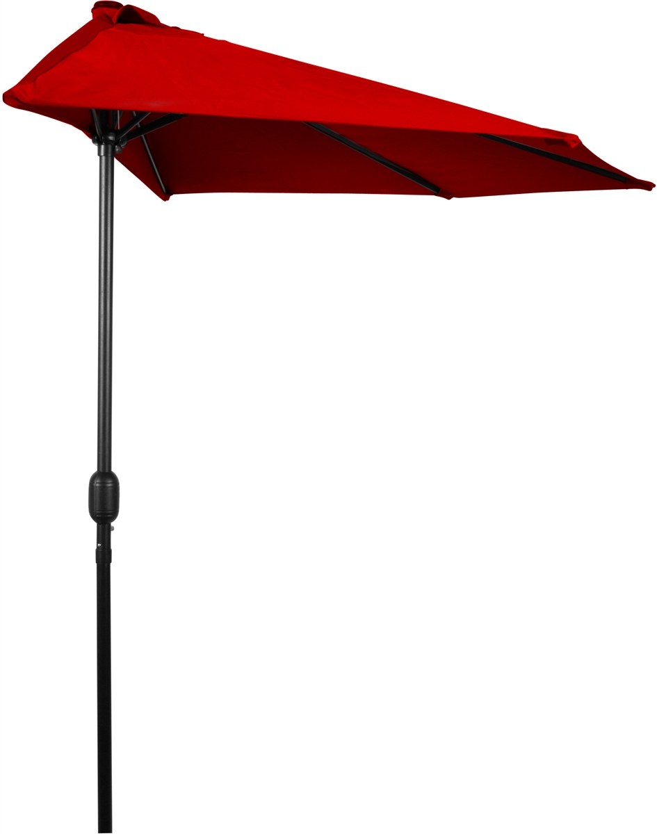 round garden patio tan half market umbrellas the umbrella p pure ft in