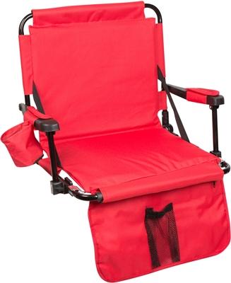 Stadium Chair With Stadium Hooks Arm Pads Amp Leg Padding