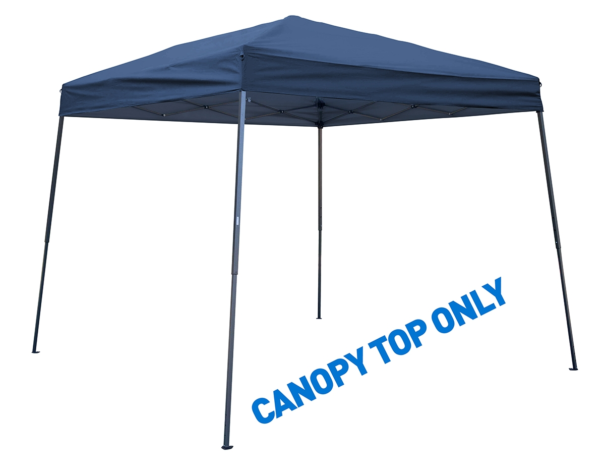 8u0027 x 8u0027 Square Replacement Canopy Gazebo Top for 10u0027 Slant Leg Canopy - Assorted Colors By Trademark Innovations (Blue)  sc 1 st  Trademark Innovations & 8u0027 x 8u0027 Square Replacement Canopy Gazebo Top for 10u0027 Slant Leg ...