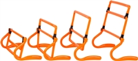 Trademark Innovations Set of 5 Adjustable Speed Training Hurdles (Orange)