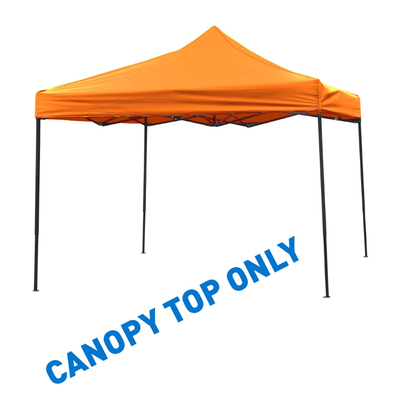 10u0027 x 10u0027 Square Replacement Canopy Gazebo Top Assorted Colors By Trademark Innovations (Orange)  sc 1 st  Trademark Innovations & x 10u0027 Square Replacement Canopy Gazebo Top Assorted Colors By ...